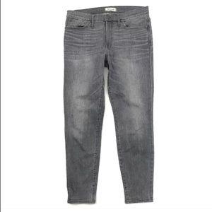 "Madewell Jeans High Riser Skinny Skinny 9"" Stretch"